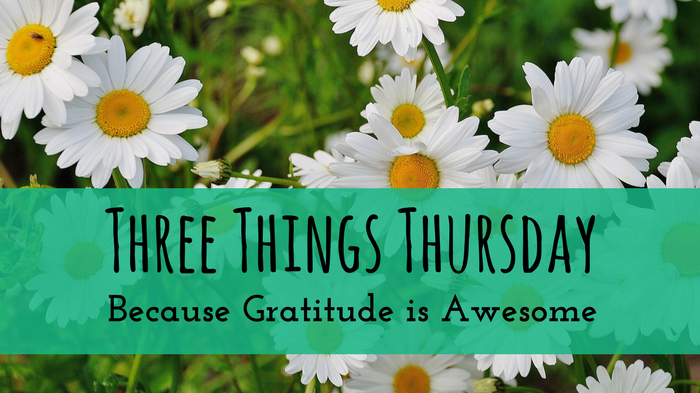 Three Things Thursday – 03/30/2017